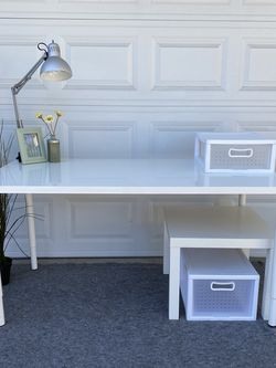 IKEA Desk Set Adjustable Legs for Sale in Irvine,  CA