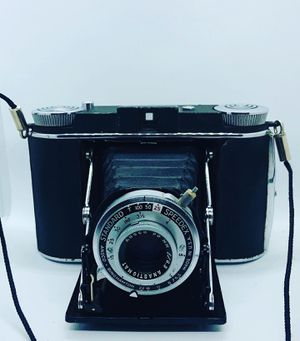 Ansco Standard Speedex 120 Folding Camera 90mm f/6.3 Lens 120 Roll Film Works for Sale in Cockeysville, MD