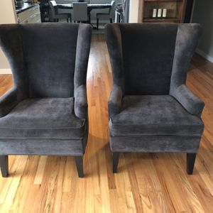 Wingback Chairs (2) for Sale in Seattle, WA