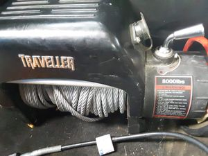Traveller 8000 lb winch for Sale in St. Louis, MO