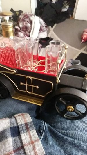 Old car collection with bar glasses for Sale in Fairfield, CA
