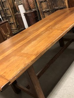 Solid Wood Dining Room Table 33 X 84 for Sale in Queens,  NY