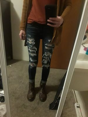 American Eagle Jeans Size 0 for Sale in Caruthers, CA