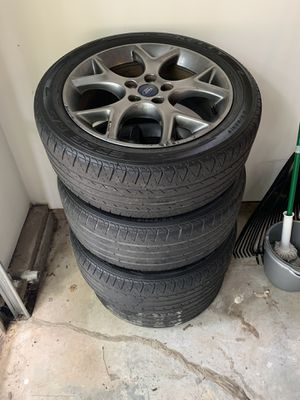 17inch ford stock rims and tires for Sale in Atlanta, GA