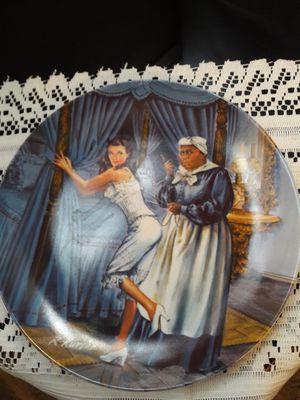 """MAMMY LACING SCARLETT"" KNOWLES PLATE #3323H HAND PAINTED ARTIST RAYMOND KURSAR for Sale in Anaheim, CA"