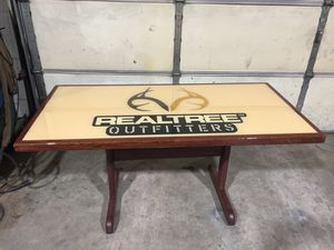 Real tree table for Sale in Amherst, VA