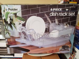 New 4 piece dish rack set for Sale in Norco, CA