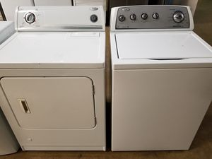 Whirlpool Washer and Dryer With Warranty Combo For Sale Cheap appliances for Sale in New Lenox, IL