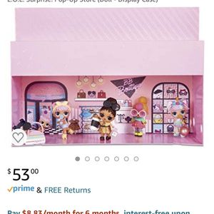LOL Doll Display Case And Storage for Sale in Plainfield, IL