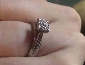 1/2 carat diamond cluster engagement ring for Sale in Atlanta, GA