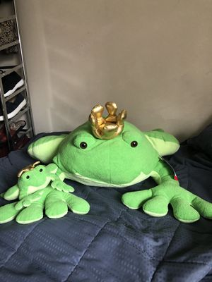 Frog plush for Sale in Happy Valley, OR