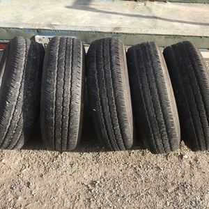 All 5 Jeep wheels and tires 16 inch for Sale in Austin, TX