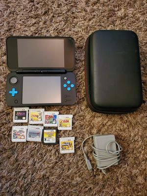 Nintendo 2DS XL, 9 Games and Case for Sale in Lake Tapps, WA