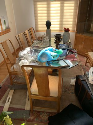 Dining room table with chairs for Sale in Palmyra, VA