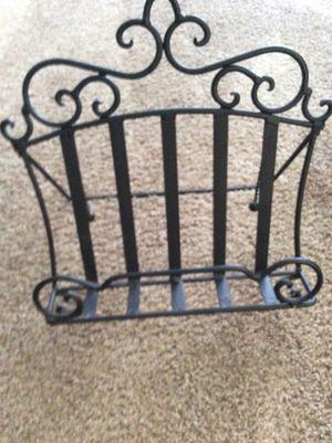 Iron magazine rack/holder (foldable) for Sale in Morganton, NC