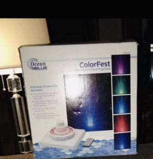 Color changing pool fountain for Sale in Nashville, TN