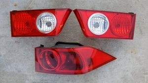 2004 2005 2006 2007 2008 Acura TSX OEM Rear Tail Lights Parts Pieces Left Right Driver Passenger Cl7 Lamp Stanley Corner for Sale in San Bernardino, CA