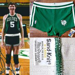 80's sand knit Celtics jersey shorts bird walton rare Redsox Patriots Nike jordan for Sale in Henderson,  NV