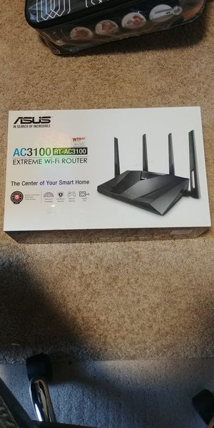 Asus ac3100 router for Sale in Vancouver, WA