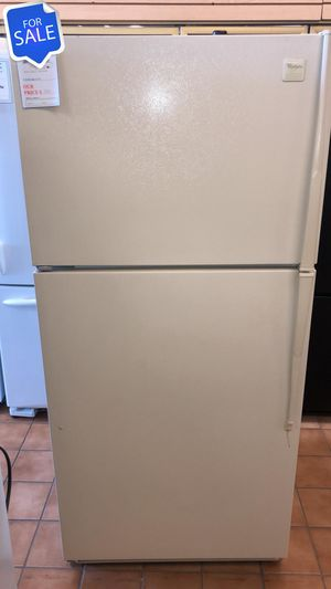 NO CREDIT!! Whirlpool CONTACT TODAY! Refrigerator Fridge Top Freezer #1481 for Sale in Pasadena, MD