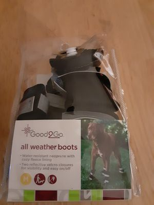 For dogs all weather boots for Sale in Medford, OR
