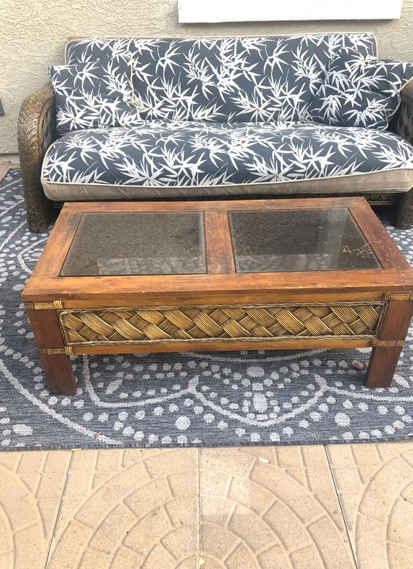 Free Futon and coffee table