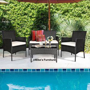 Brand new 4 PCS Garden Patio Furniture Set for Sale in Sunrise, FL