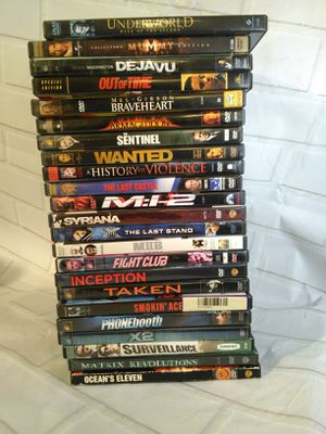 Wholesale action adventure DVD binge movie lot for Sale in Belmont, MA