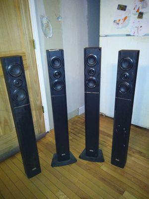 4 Boca audio speakers for Sale in Chicago, IL