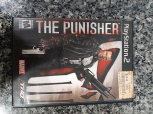 PlayStation 2 PS2 The Punisher no manual in good shape for Sale in La Grange, IL