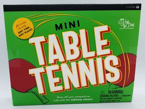 Mini Table Tennis Set Professor Puzzle Classic Game for Sale in Charlotte, NC
