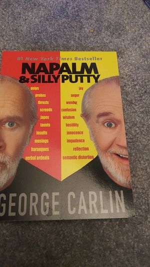 George Carlin Napalm and Silly Putty for Sale in Colorado Springs, CO