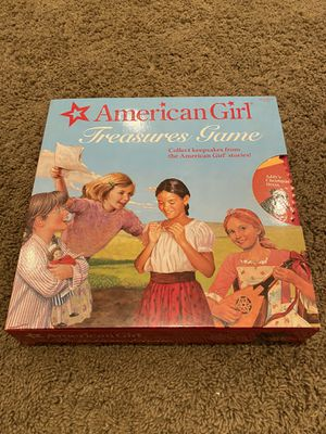 American Girl Treasures Game/ Board Game/ Kids Game/ Kids Toy for Sale in Seal Beach, CA