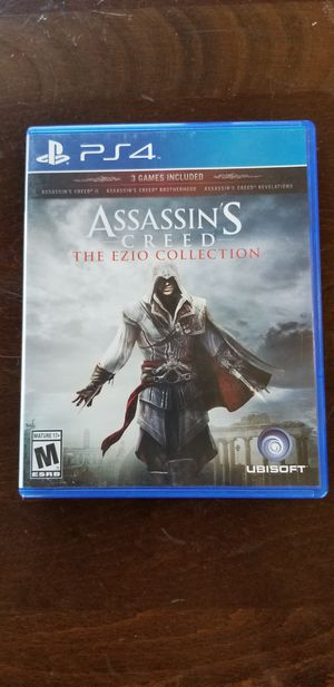 Assassin's Creed The Ezio Collection - PS4, Trade For BO4 Or MK11 Only, Price Firm for Sale in Garden Grove, CA