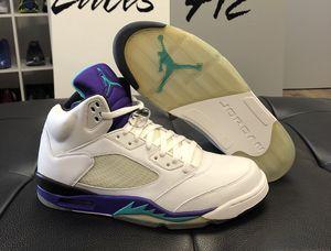 "DS Jordan Retro 5 ""2006 Grape's"" Size: 12(NO TRADES) for Sale in Pittsburgh, PA"