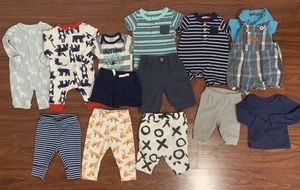 Newborn Baby Boy Clothes (14 pc) $20 for Sale in San Jose, CA