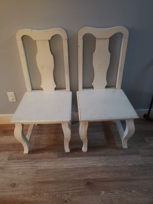 Farmhouse wooden chairs for Sale in Everett, WA