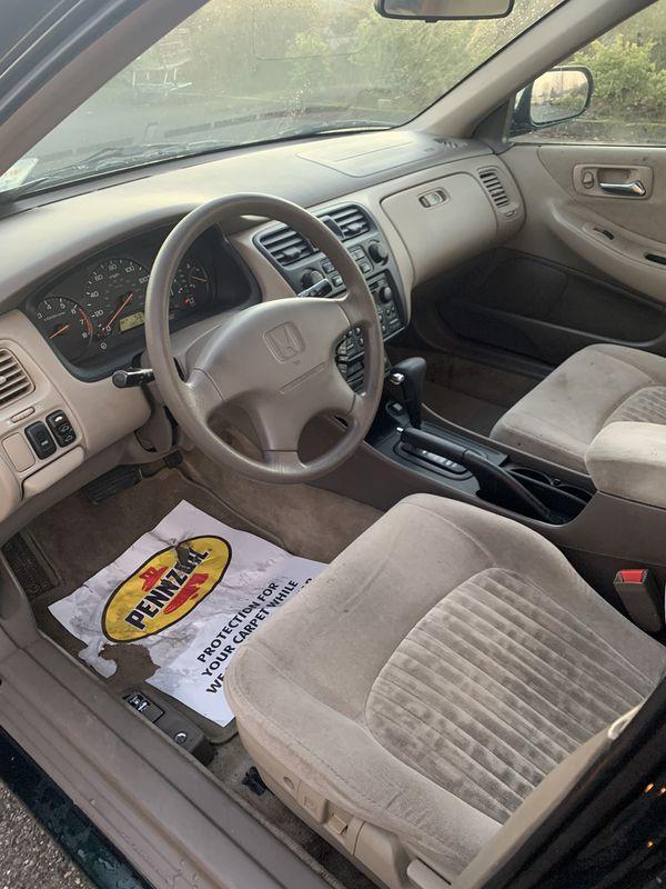 1998 Honda Accord Ex For Sale In Everett  Wa