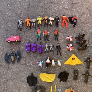 Huge Vintage Batman & Robin Toy Collection From The 90's!! for Sale in Las Vegas, NV