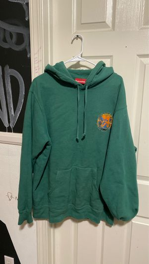 Supreme Embryo Hoodie (GREEN) deadstock size LARGE for Sale in Corona, CA