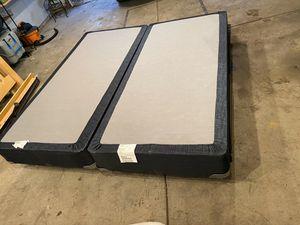 Denver Mattress Company King Bed/Box Springs/Metal Frame for Sale in Denver, CO