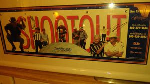 Signed PGA golf poster from shark shootout in 1994 for Sale in Escondido, CA