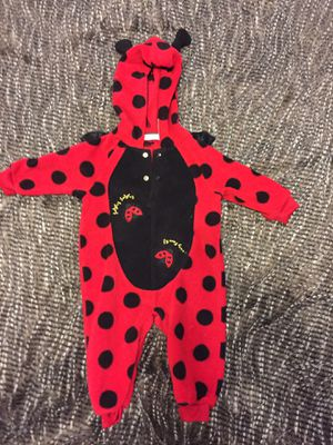 lady bug🐞Costume size 3 months for Sale in Maricopa, AZ