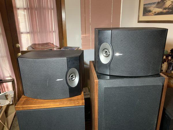 Bose 3.1 V speakers.
