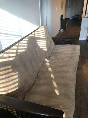 Brown futon for Sale in Murfreesboro, TN