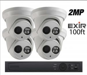 4 Camera High Quality Night Visions DVR KIT for Sale in Downey, CA