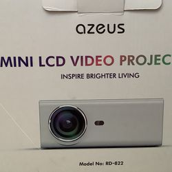 Azeus Projector With Screen for Sale in Mauldin,  SC