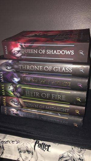 Throne of glass series for Sale in Denver, CO