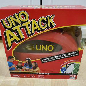 Brand New Toy Uno Attack Family Children Kids Board Game for Sale in Chino, CA