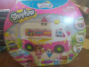 Beados Shopkins ice cream truck for Sale in Port St. Lucie, FL